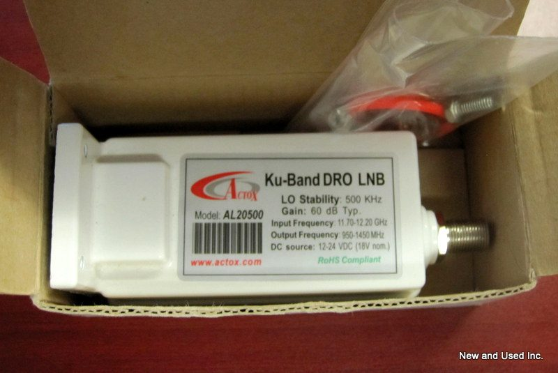 Brand New 11.70-12.20 to L-Band DRO LNB