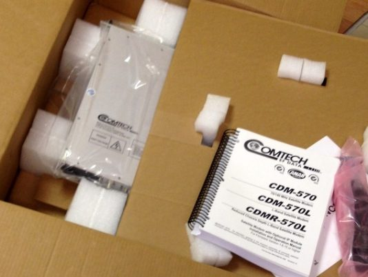 New in Comtech box
