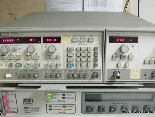 Complete with HP 83540B RF Module