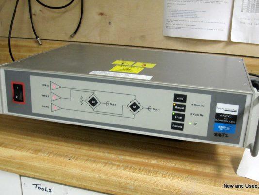 1:2 Redundancy controller for MX5000 TWTA amps.